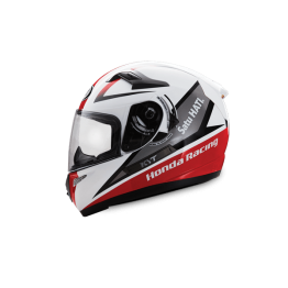 HONDA RACING RED HELMET